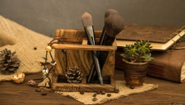 Органайзер для косметики - удобный аксессуар EcoWalnut для девушек