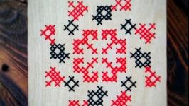 Блокнот з вишивкою