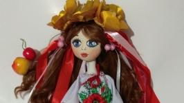 Текстильная кукла Украиночка