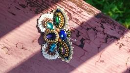Брошь ′Радужная бабочка′