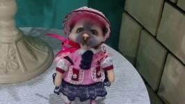 (Продано) Валяная мышка ′Аделаида Тяпкина′