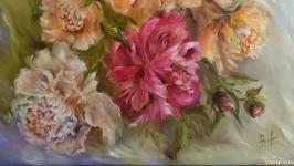 Картина маслом ′В теплых тонах′ 50х60 см, холст на подрамнике, масло