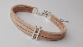 Кожаный браслет ′Holly′