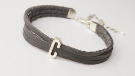 Кожаный браслет ′Cindy′