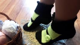 Носочки- туфельки.
