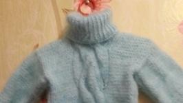детский пуховый свитер