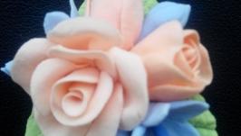 Брошь Роза-Мини
