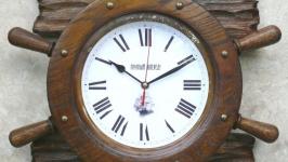 Часы настенные интерьерные ′штурвал′. N 2