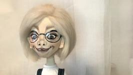Текстильная кукла Эмма.