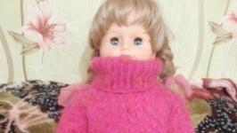 пуховый свитерок МАЛИНА