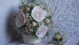Свадебный букет ′Сердце Зимы′