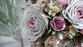 Свадебный букет ′Сон в зимнюю ночь′