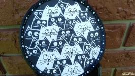 Декоративная тарелка ′Котики′
