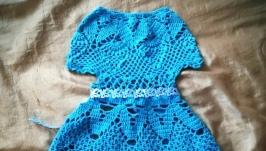 В′язание плаття для чотирирічної  дівчинки