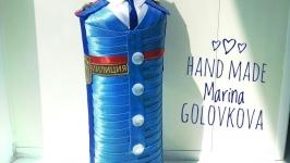 Подарочная бутылка Милиционер
