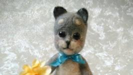 Валяная игрушка Кот