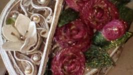 шкатулка розы