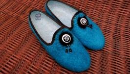 Валяные туфли для улицы