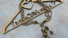 Колье с бутонами , цветочное колье , колье ожерелье , колье жемчужное