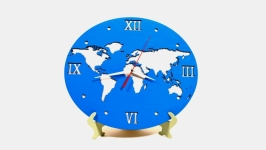 Настенные часы ′Карта мира′