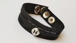 Кожаный (замшевый) браслет ′Hayley′