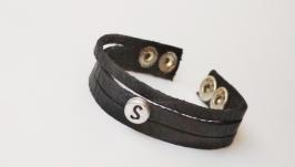 Кожаный (замшевый) браслет ′Sylvia′