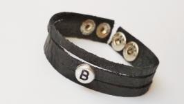 Кожаный (замшевый) браслет ′Brenda′