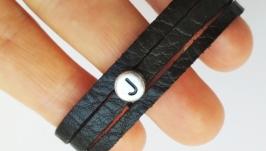 Кожаный (замшевый) браслет ′Judith′
