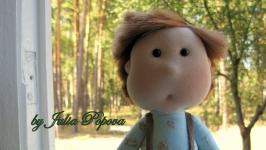 Кукла мальчик Рыжик