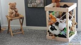 Короб для хранения мягких игрушек