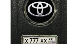Обложка 2в1 на Автодокументы и паспорт с Госномером и Логотипом