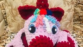 Детский напольный коврик ′Единорожка Мия′