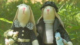 Кролики Пилот и его девушка