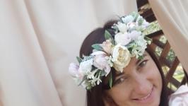 Весільний вінок на голову