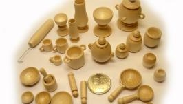 Набор кукольной посуды (бирюльки) 27 предметов