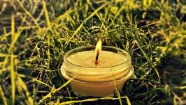 Массажная свеча. Косметическая свеча.