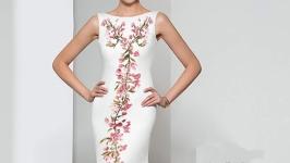 Свадебное платье вышитое - Заготовка 2