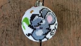 Ёлочный шарик ′Мыши в пляс′