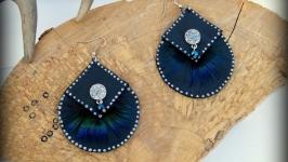 Сережки Синя хвиля