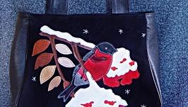 Женская сумка ′Снегирь′