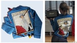 Ручная роспись Вашей джинсової куртки на замовлення
