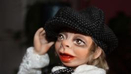 Авторская кукла Маркус