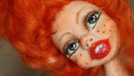 Авторская кукла Рыжик