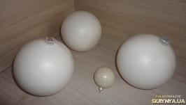 Шар пластиковый с подвесом (заготовка для декора)