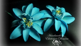 тут изображено Резиночки ′Фантазийный цветок′