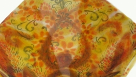 Косыночка-батик ′Тёплая осень′
