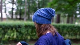 Вязаные шапки тыковки