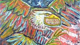 Картина Орел, абстракция, американский символ