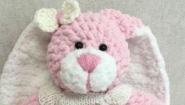 Розовая зефирная зайка