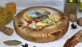 Разделочная доска «Голландский сыр»